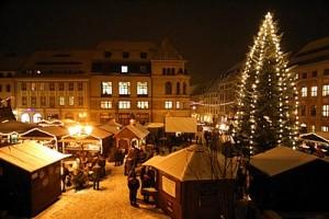 Gilt als ältester Weihnachtsmarkt Deutschlands: Der Wenzelsmarkt in Bautzen