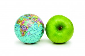 Apple+earth